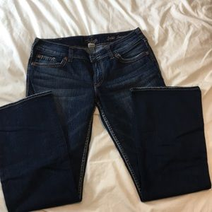 Silver Suki Surplus Jeans